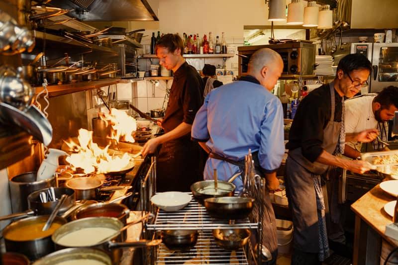 Restaurant - Münstermann Kontor Düsseldorf